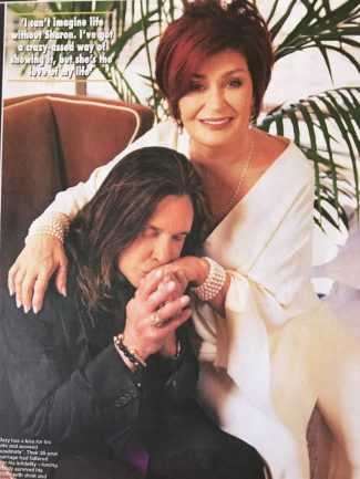 ozzy & sharon osbourne vow renewal