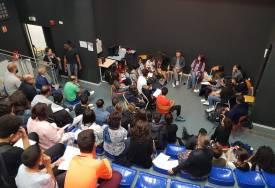Rencontre avec Omar Benlaala - Collège Vallon des Pins - Mai 2019 / Le Cerese