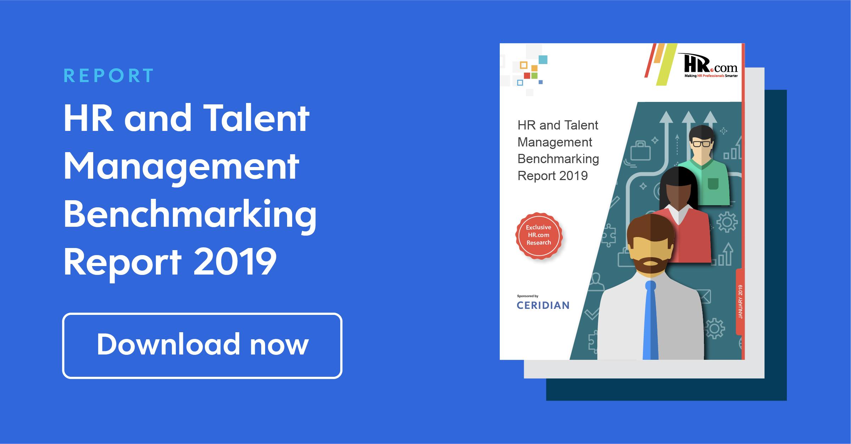 Hr Talent Management Benchmarking Report 2019 Ceridian