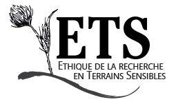 """<strong> Avant le 15 juin 2021 </strong> – AAC du colloque """"L'éthique dans les recherches en terrains sensibles"""""""