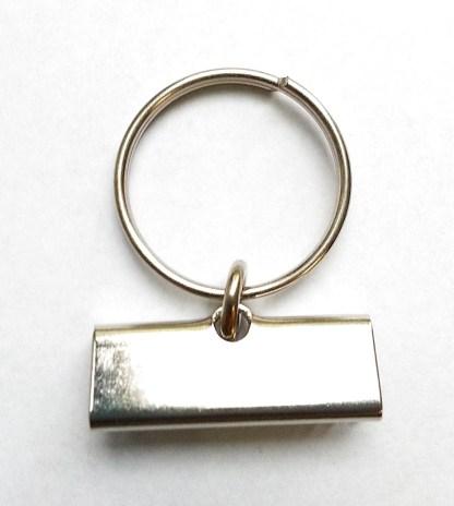 Accessorio portachiavi con canalina 30mm