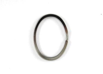 Anelli a Spirale Filo Piatto Ovale 10pz