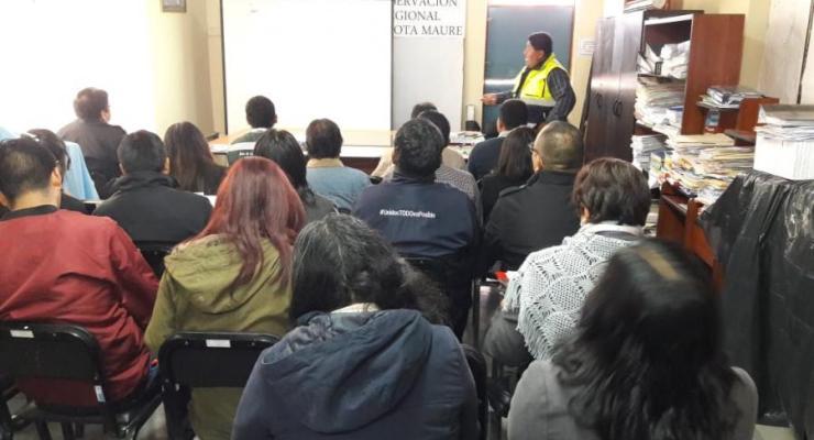 Tacna: Gerencia de Recursos Naturales participó de capacitación de seguridad y salud en el trabajo