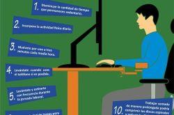 10 consejos si trabajas mucho tiempo sentado