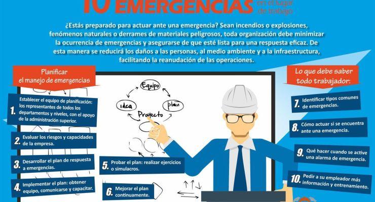 10 consejos para prepararse ante emergencias