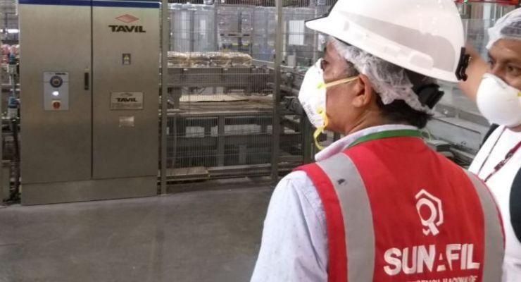 SUNAFIL fiscaliza la seguridad contra el coronavirus en empresas de Arequipa