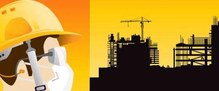 contratista de construcción para prevenir la COVID-19