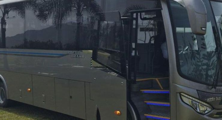 Covid-19: presentan bus con dispositivos de bioseguridad