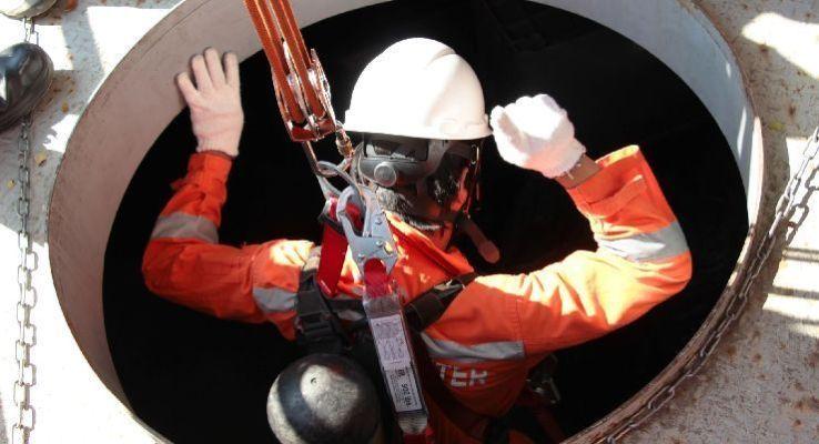 Medidas de seguridad para trabajos en altura en zonas confinadas