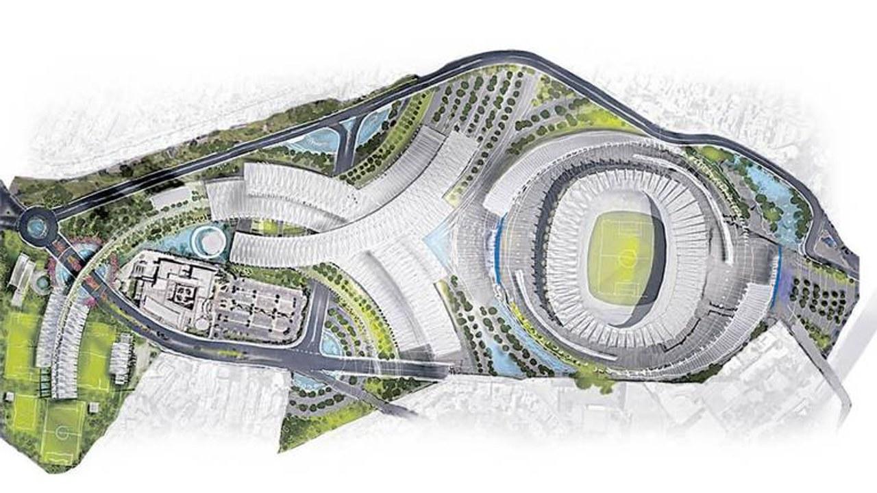 remodelacion-estadio-azteca-centro-comercial-Parque de Santa Úrsula-hotel-cdmx