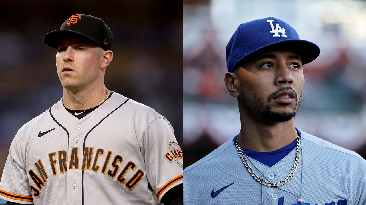 Dodgers contra Giants playoffs