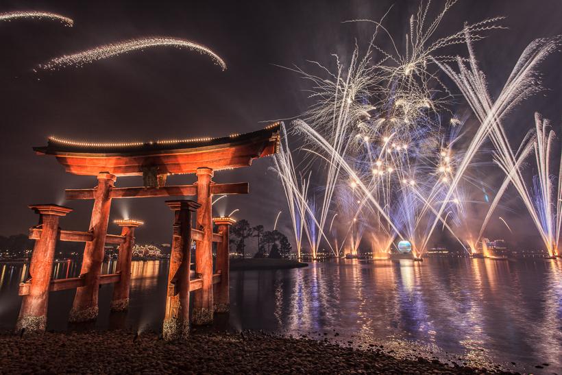 Epcot Fireworks Illuminations