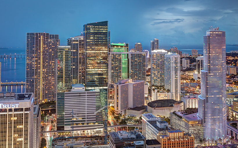 Miami from Vizcayne