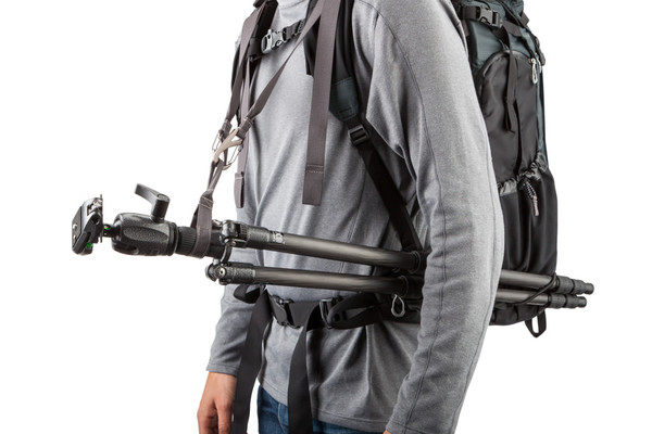 Tripod suspension kit lets you carry and setup your tripod quickly