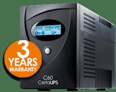 UPS 3 Year Warranty