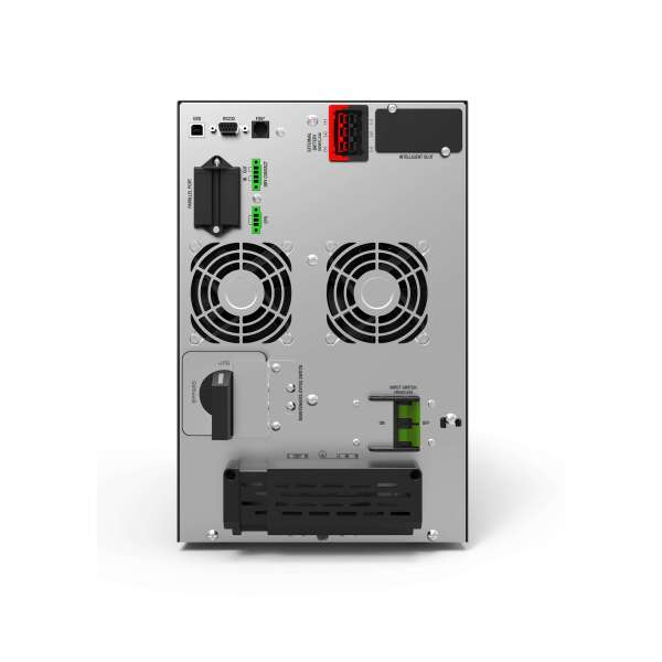 C550 6kVA UPS charger model rear view product image