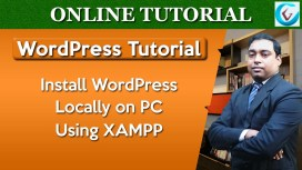 Install WordPress Locally Using XAMPP
