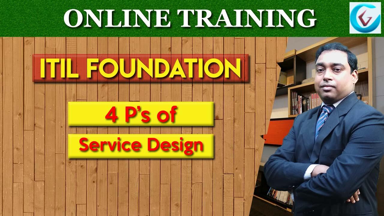 4 Ps Of Service Design Itil Tutorial Itsm Certguidance