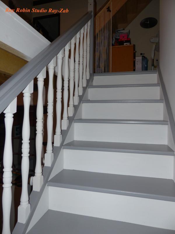 Les Escaliers Repaints Le Monde Selon RAY ZAB