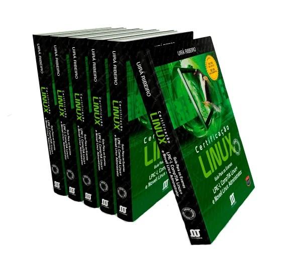 livro_3d Cursos Linux para Iniciantes