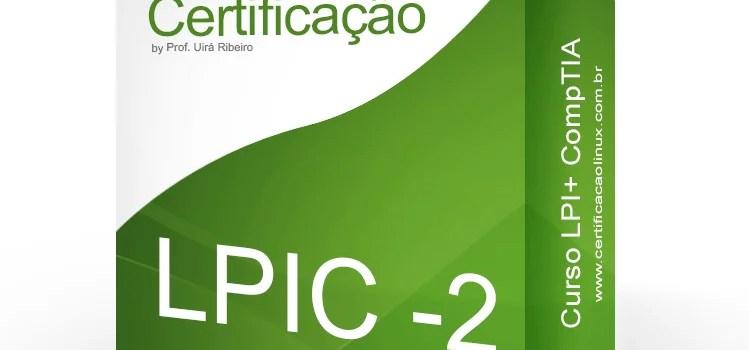 Lançamento do curso LPIC-2