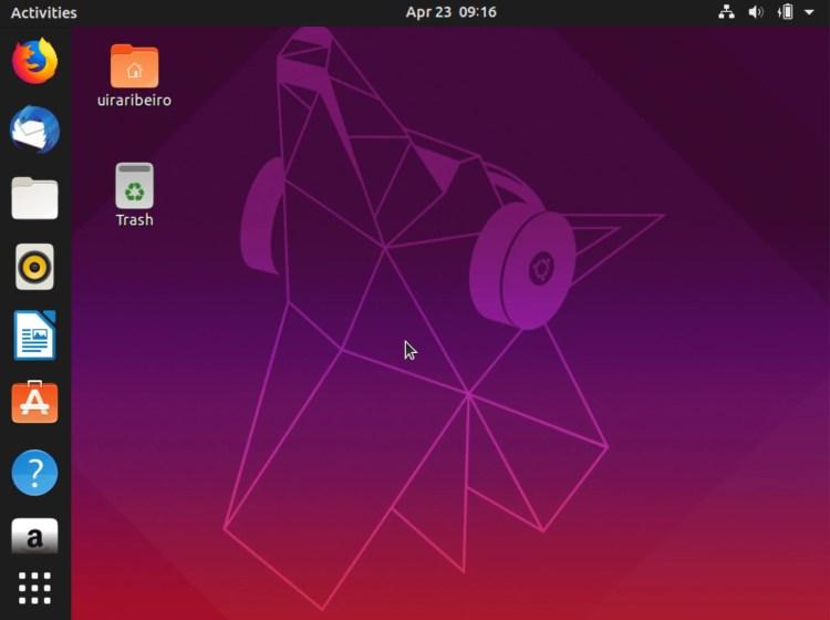 ubuntu-1904 Ubuntu 19.04 é Lançado