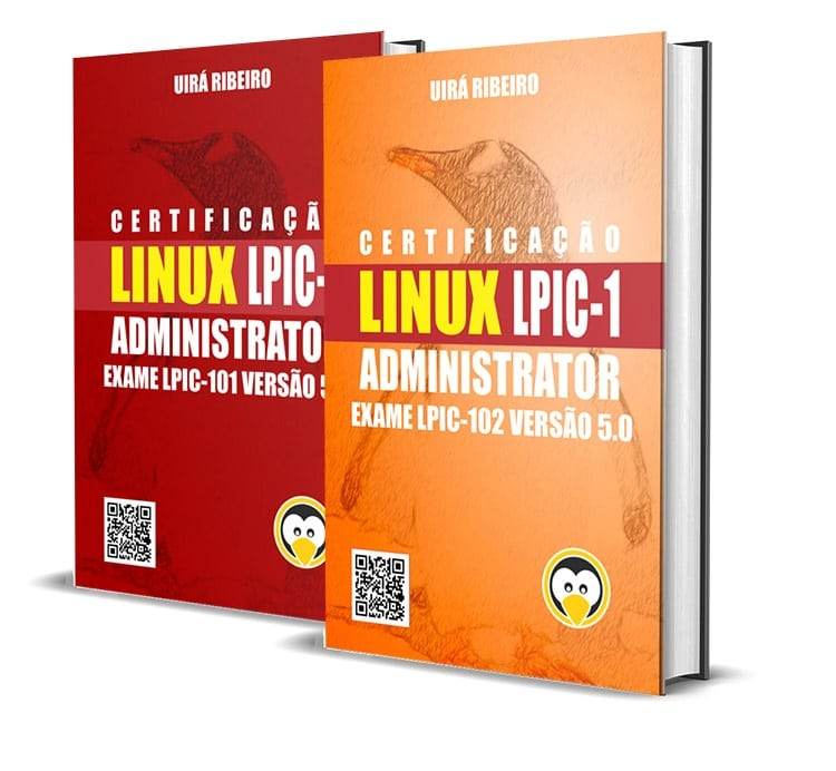 dois_livros_juntos1 Livro Certificação Linux LPIC-1