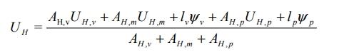 transmitancia térmica global U ventana formula