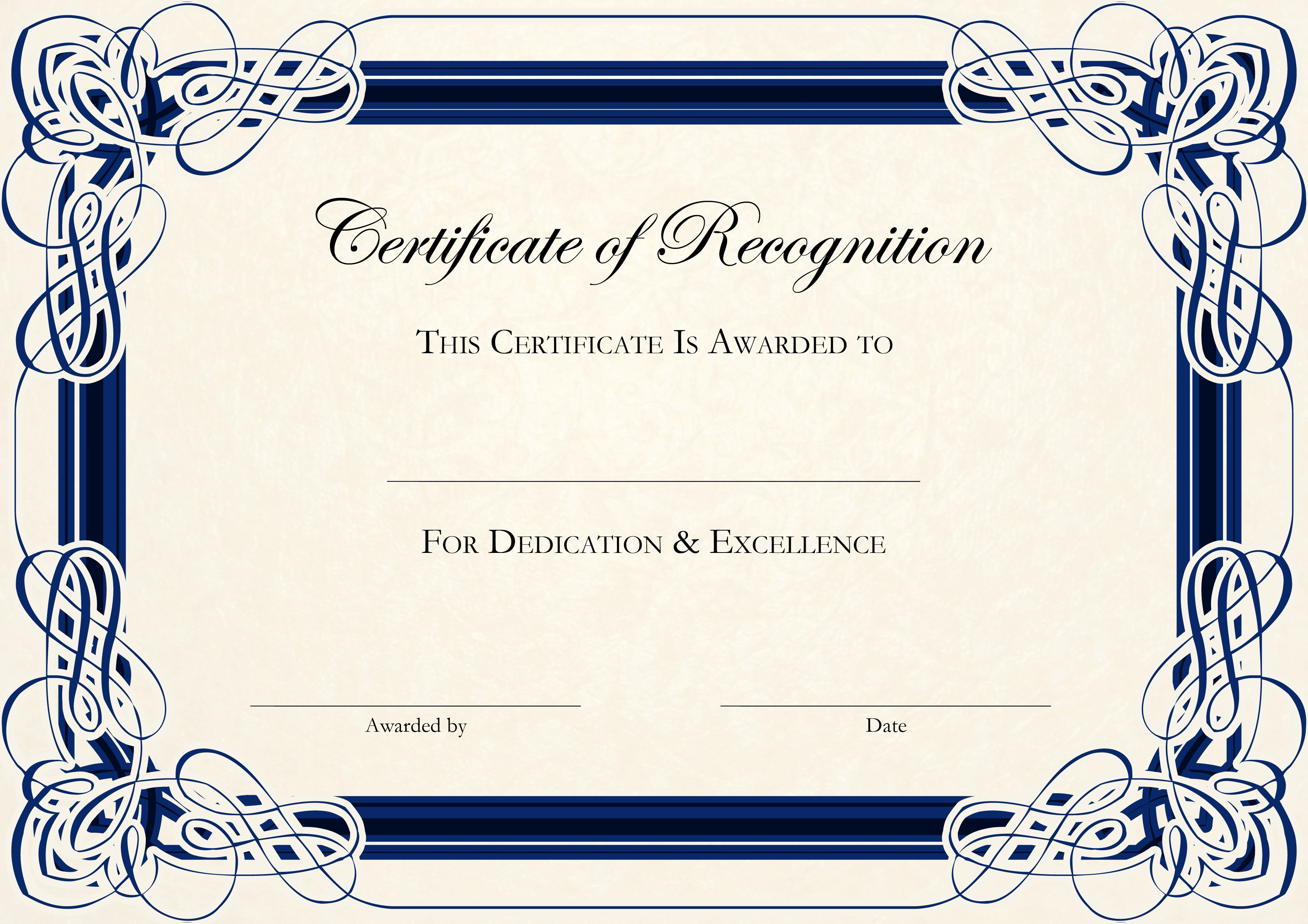 Congratulations Certificate Template Word free template certificate – Congratulations Award Template
