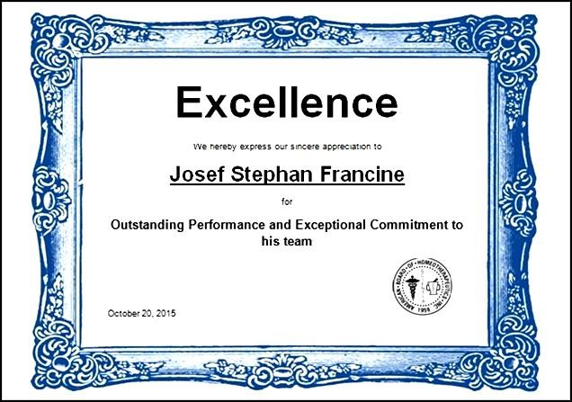 Certificates Of Excellence Templates customizable certificate – Certificate of Excellence Template Word