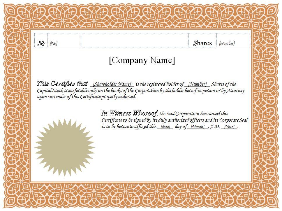 Word Certificate Template free teacher appreciation download and – Certificate Template Word