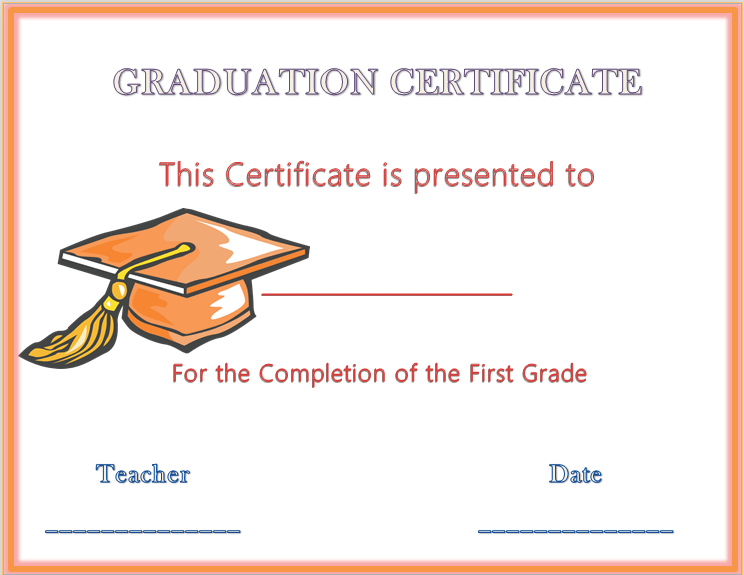 graphic about Printable Graduation Certificate titled Commencement Certification Templates - Totally free Obtain