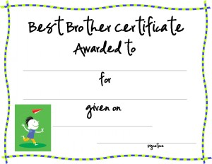 certificate template for kids free printable certificate templates
