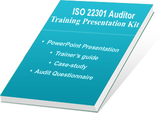 iso 22301 auditor training