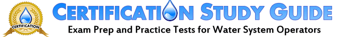 Water Certification practice test