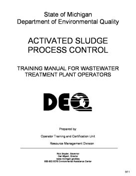 Wastewater Library - Water Operator Certification Study Guide