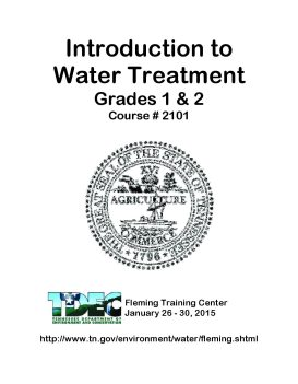 Water Treatment Library - Water Operator Certification Study Guide