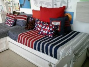 mattress with pillows