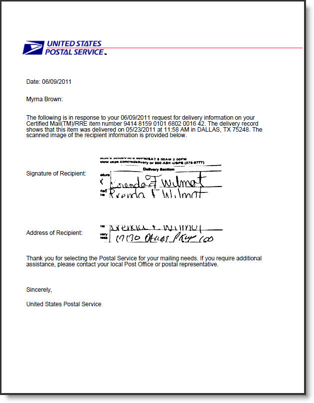 how to address a letter sent certified mail howsto co