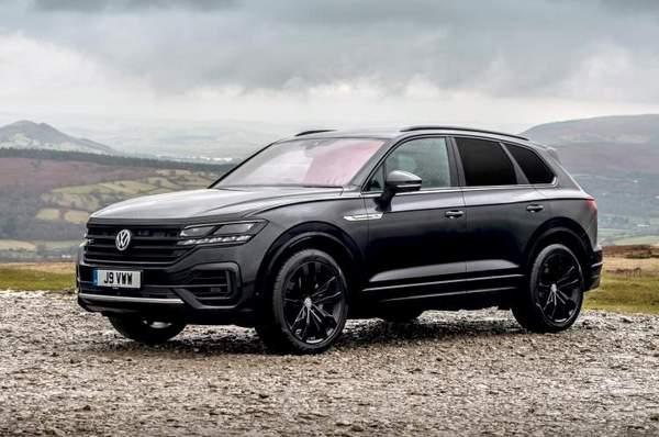 Volkswagen Touareg (2020) vue de face