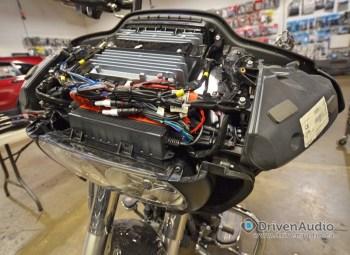 2015 Harley Road Glide Audio Upgrade