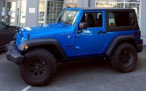 Jeep Wrangler Restyle Transformation for Base Model