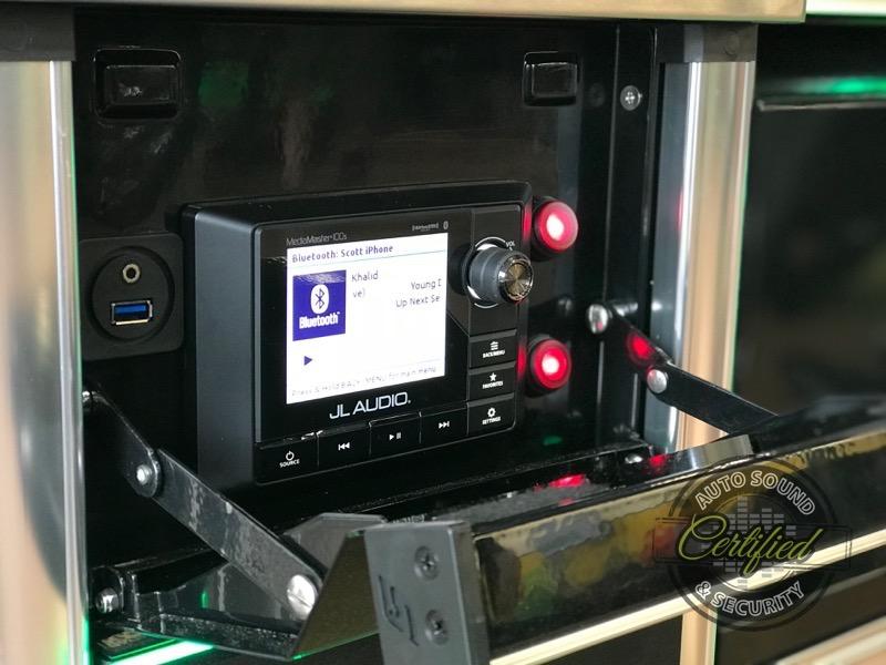 BBQ Grill Audio