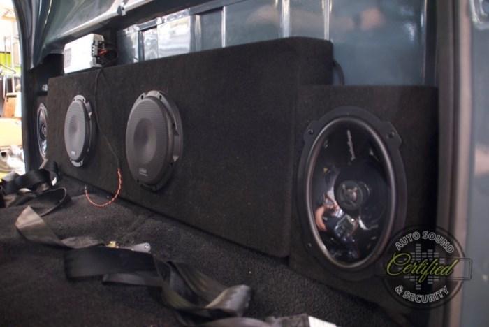 Classic Chevy Truck Audio