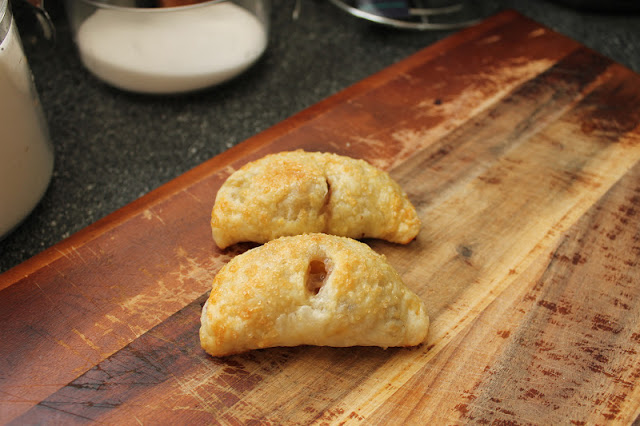 Two Bourbon Peach Hand Pies