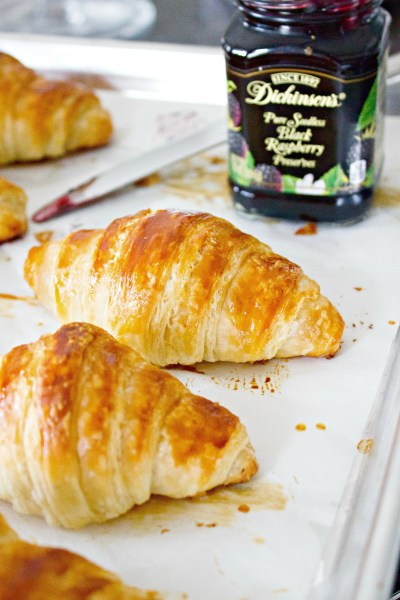 Classic Butter Croissants - they are super simple to make. They require some work but they are worth all the effort!