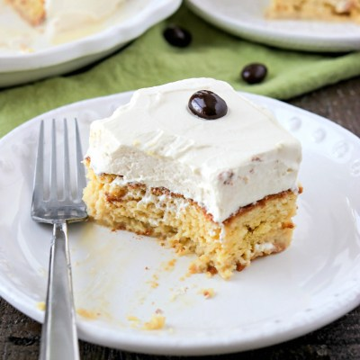 Irish Cream Tres Leches