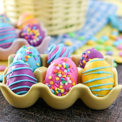 Cookie Dough Easter Eggs with M&M'S®