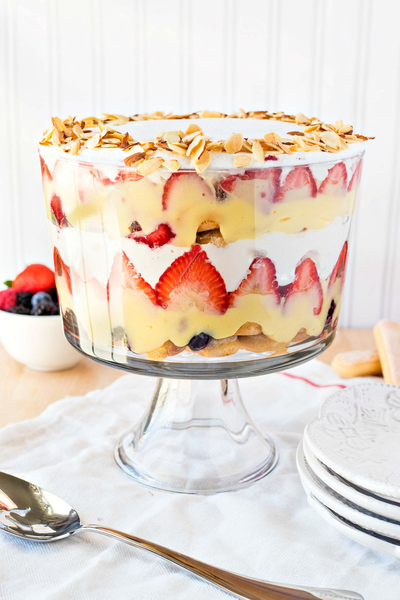 Traditional English Trifle Cpa Certified Pastry Aficionado