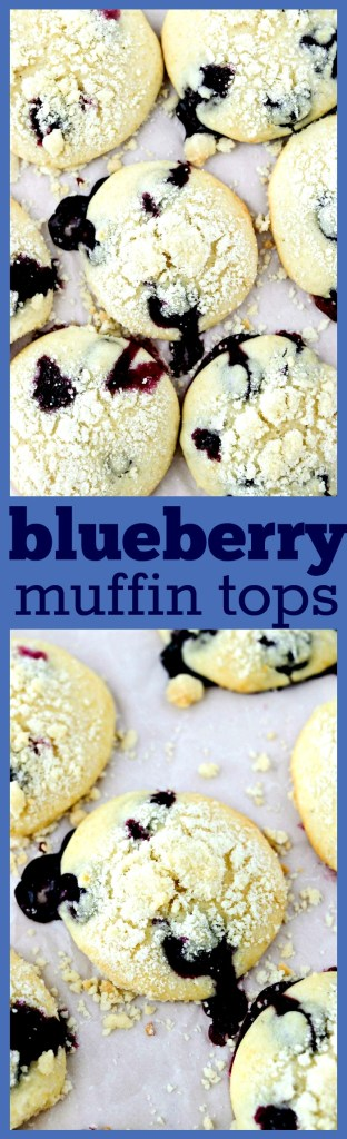 Blueberry Muffin Tops - Everyone knows the best part of the blueberry muffin is the top. Why not make them just the way you like them - with just the tops! Follow this simple recipe and you'll get perfectly fluffy, soft, and slightly crispy blueberry muffin tops.